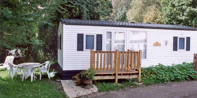 mobil-home camping lac de Gerardmer