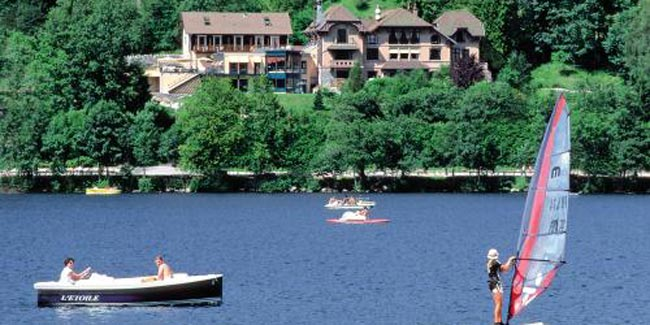 Activités lac de Gerardmer