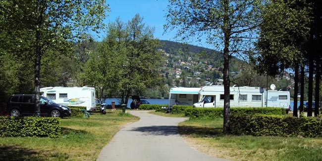 emplacement camping lac de Gerardmer