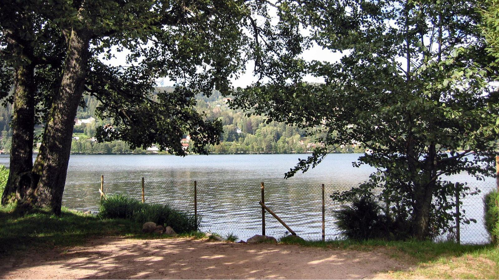 Camping lac de Gerardmer
